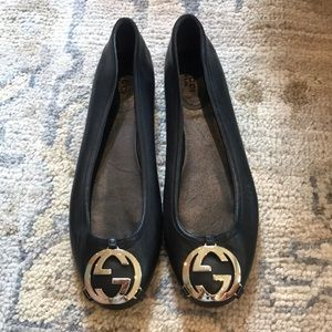 New never worn! Gucci ballet flats